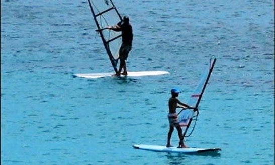 Enjoy Windsurfing Lessons In Milna, Island Vis, Croatia