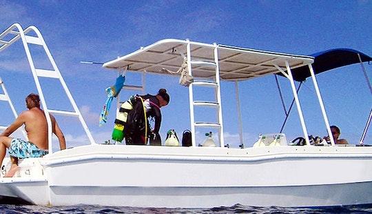 Center Console Diving Charter In Kralendijk, Caribbean Netherlands