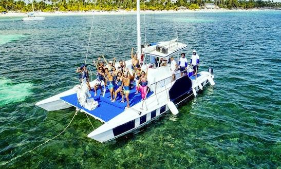 Explore In Style On A Cruising Catamaran In Punta Cana, Dominican Republic