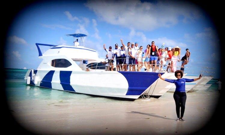 80 person super fun sailing tour