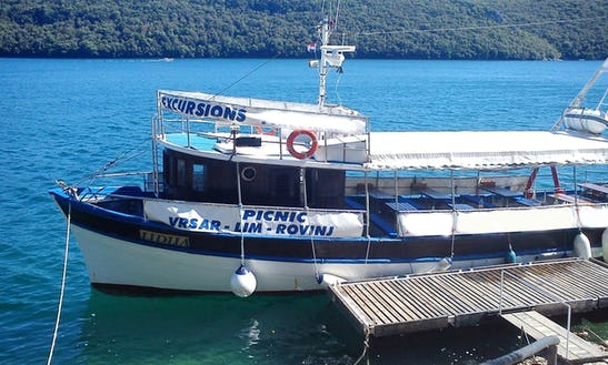 'la Rosa' Boat Tour In Vrsar - Croatia