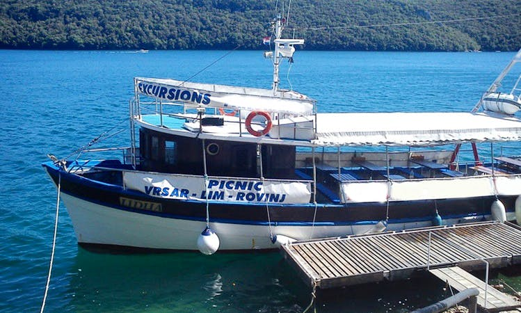 'La Rosa' Boat Tour in Vrsar - Croatia