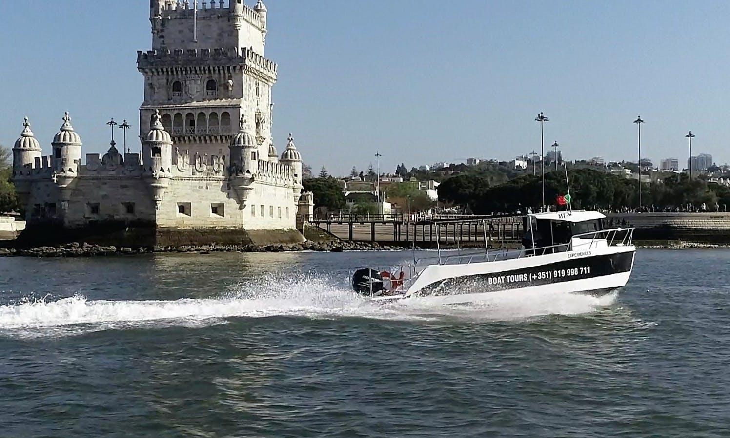 Charter boat Lisboa - Cultural Tour