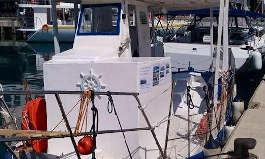 Deck Boat Fishing Charter In Limasol