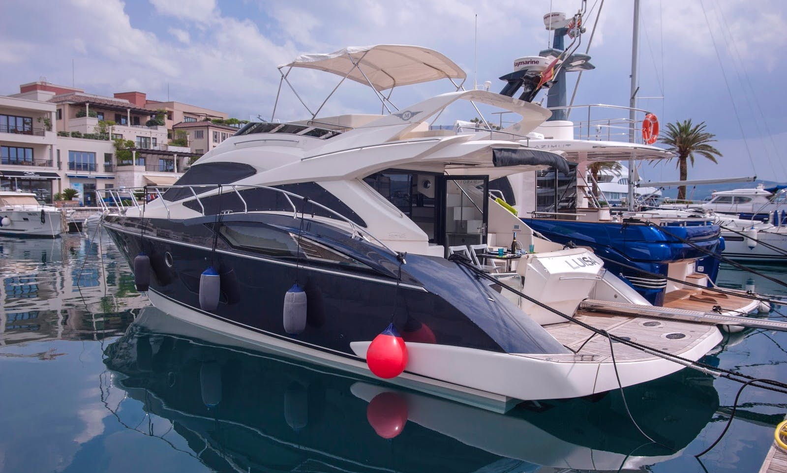 Yacht for rent. Charter Marquise 500 SB, 50' in Tivat, Porto Montenegro, Montenegro