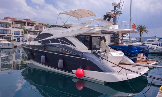 Yacht For Rent. Charter Marquise 500 Sb, 50' In Tivat, Porto Montenegro, Montenegro.