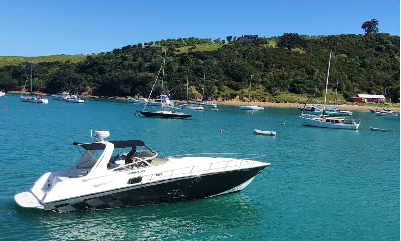 A 4 Person Inboard Propulsion Rental in Whangaparaoa, New Zealand