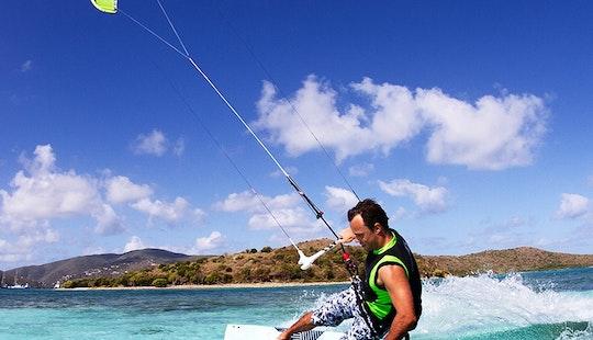 Kiteboarding In Miami