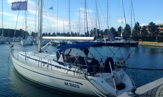 Cruise the water of Policoro, Italy with this sailboat