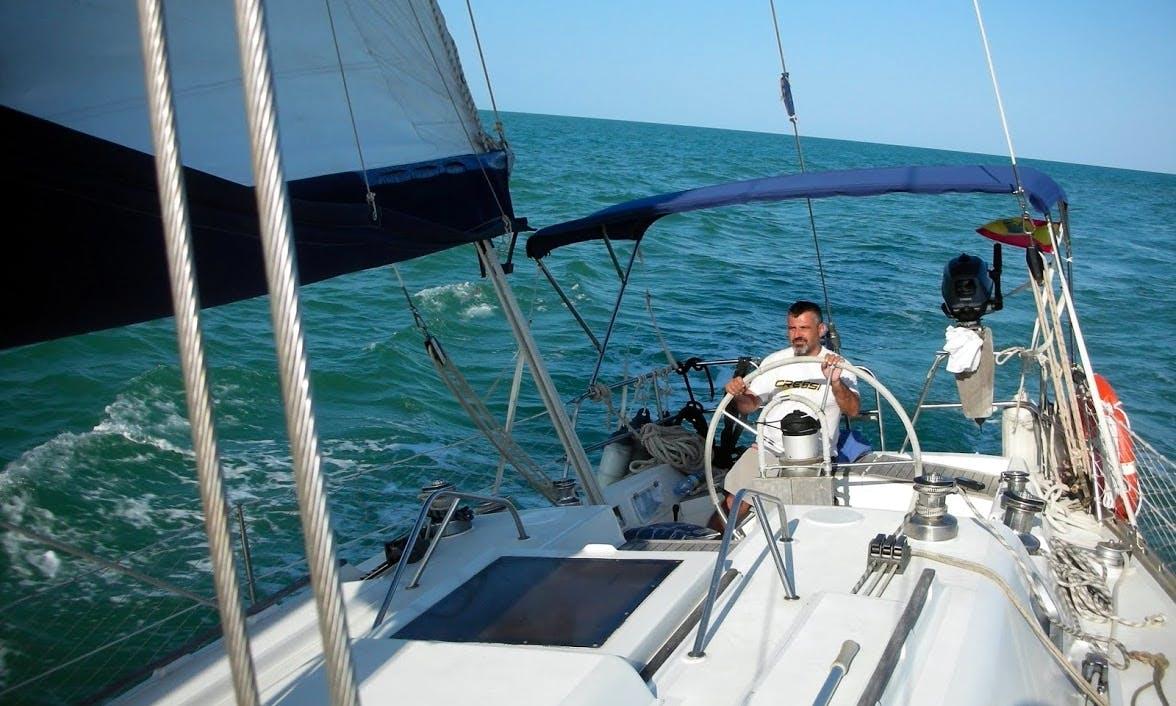 Sailing vessel PUMA 39´for rental in Carboneras