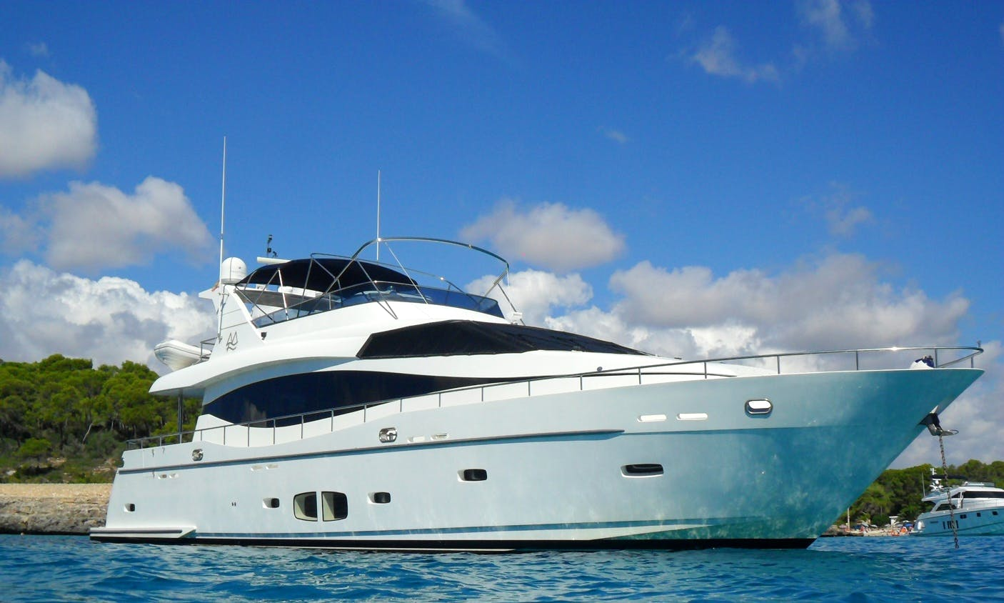 Charter 78' Montefino Power Mega Yacht in Portals Nous, Spain