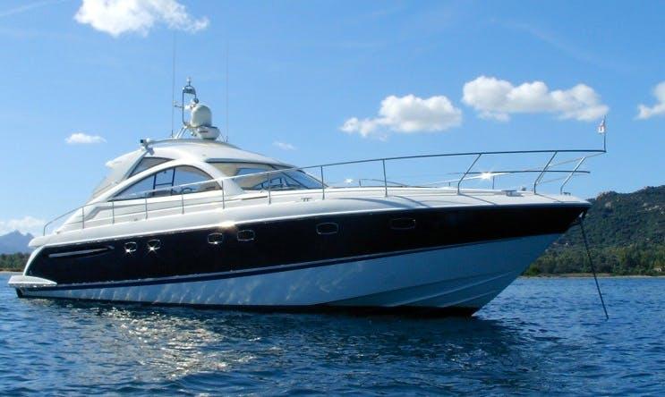 Charter 52' Fairline Targa Power Mega Yacht in Portals Nous, Spain