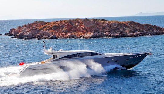 Charter 94' Sun Anemos Couach Power Mega Yacht In Voula, Greece