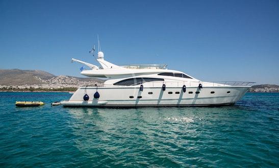 Charter 70' Ananas Ferretti Power Mega Yacht In Voula, Greece