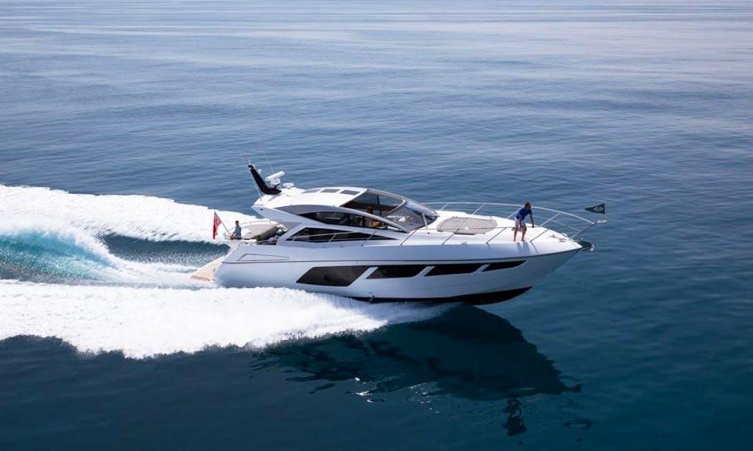 Charter 57' Sunseeker Predator Power Mega Yacht in Portals Nous, Spain