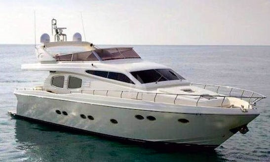 Charter 68' Lettouli Iii Posillipo Power Mega Yacht In Voula, Greece