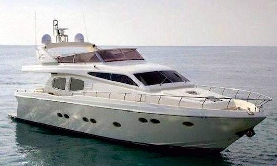 Charter 68' Lettouli Iii Posillipo Power Mega Yacht In Voula, Greece