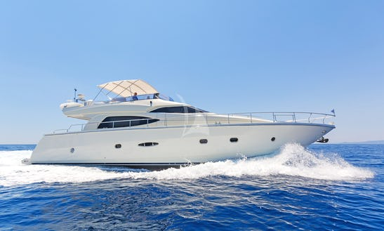 Charter 64' Beluga Dominator Power Mega Yacht In Voula, Greece