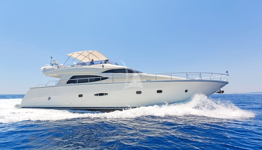 Charter 64' Beluga Dominator Power Mega Yacht In Voula, Greece
