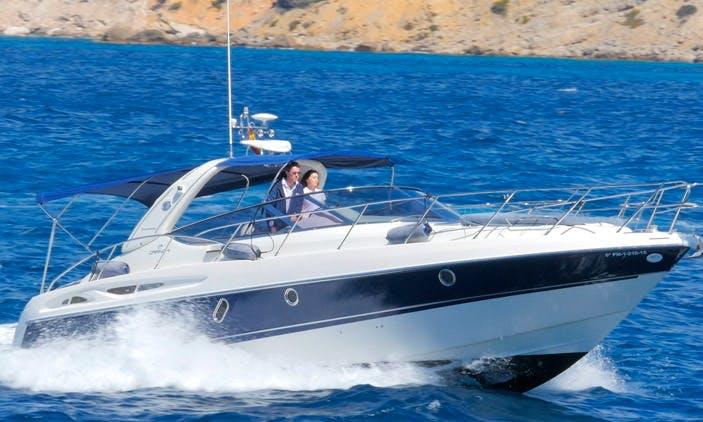 Charter 41' Cranchi Endurance Motor Yacht in Calvià, Spain