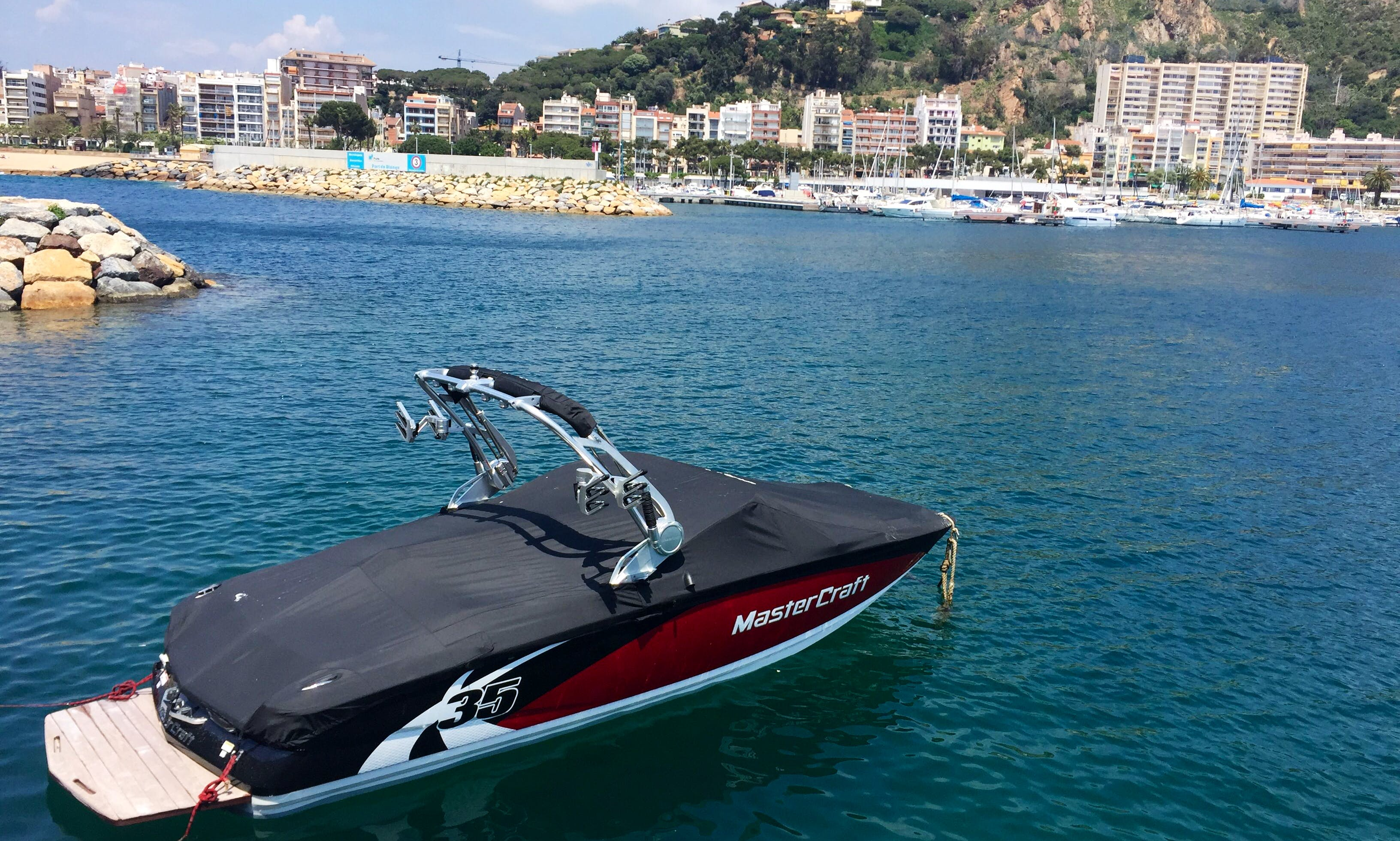 Wakeboarding Adventure in Blanes, Spain