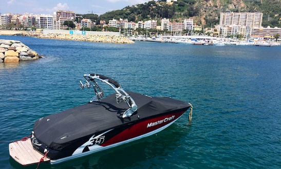 Wakeboarding In Blanes