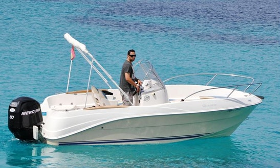 Charter Quicksilver Passport 525 Sunshine - Schnulli Center Console In Portocolom, Spain