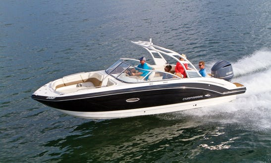 Charter 25' Chaparral 250 Deck Boat In Balears, Spain