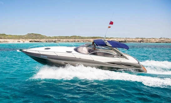 Charter 35' Sunseeker Superhawk Motor Yacht In Balears, Spain