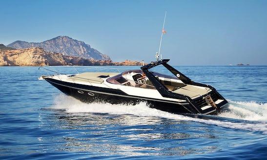 Charter 37' Sunseeker Tomahawk Motor Yacht In Balears, Spain