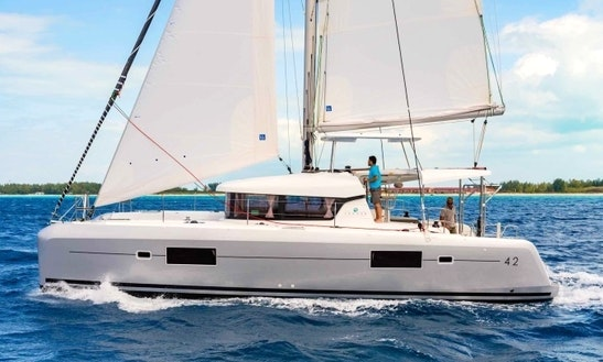 Charter 42' Lagoon Cruising Catamaran In Lefkada, Greece