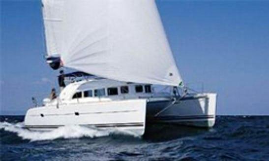 Charter 38' Lagoon Cruising Catamaran In Lefkada, Greece