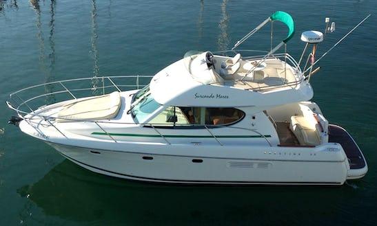 Motor Yacht Rental In Sitges!