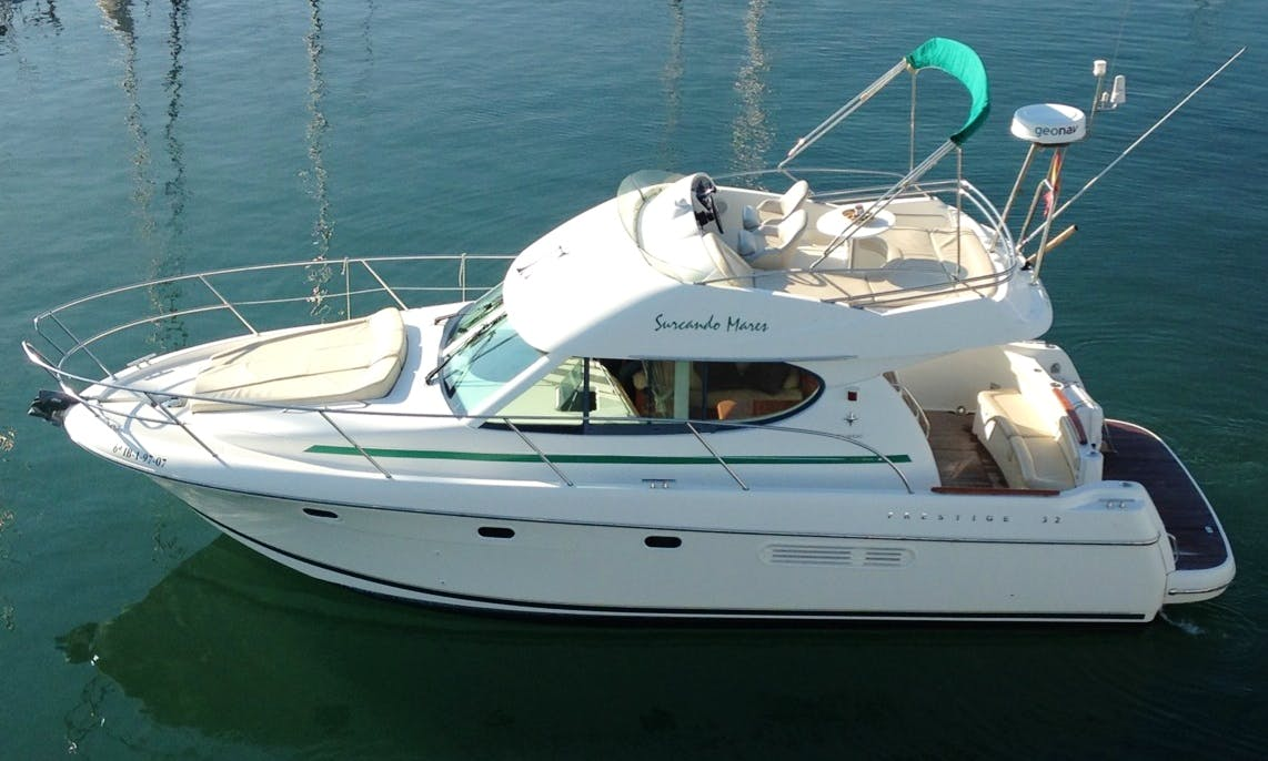 10 Person Motor Yacht rental in Sitges, Spain