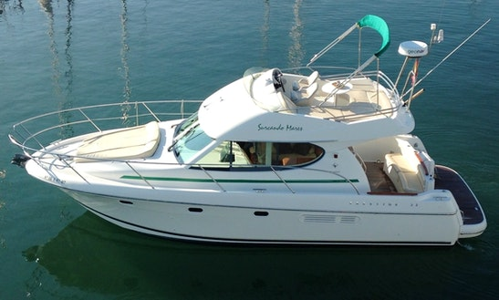 Motor Yacht Rental In Sitges!