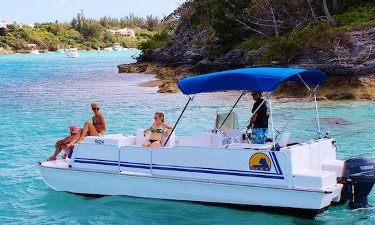 Pontoon Beach Catamaran In Hamilton Parish