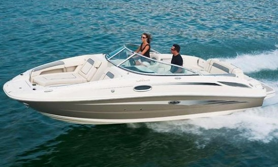 Sea Ray Sundeck 21ft Rental In Cape Coral