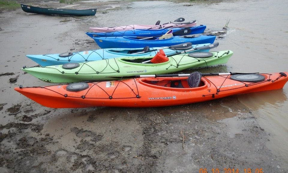 Single Sea Kayak Rental in Pierre, South Dakota