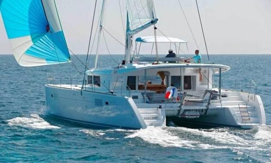 Charter 46' Odysseas Lagoon Cruising Catamaran In Kontokali, Greece