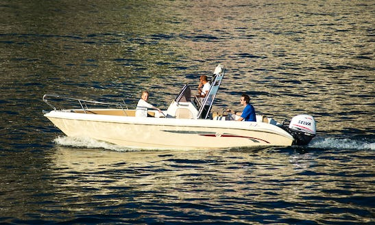 Rent Freeline 22 Center Console In Amalfi, Italy