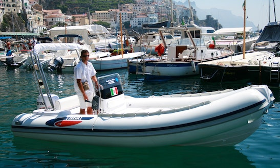 Rent Selva 540 Rigid Inflatable Boat In Amalfi, Italy