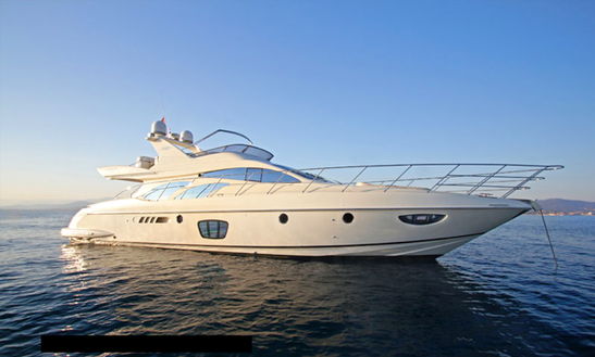 Charter Azimut 62 Fly Power Mega Yacht In Amalfi, Italy