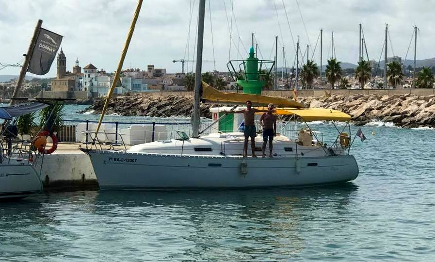 Charter a Cruising Monohull in Castelldefels, Spain