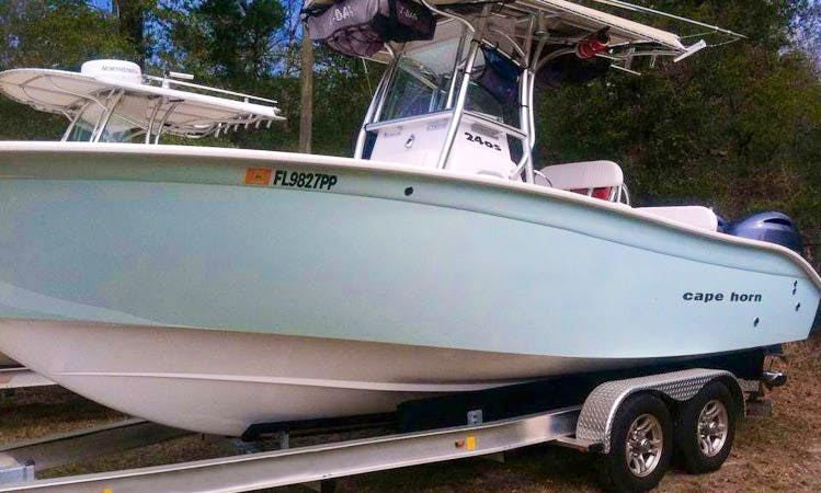 Fishing Charter On 24' Cape Horn Center Console In Fort Walton Beach,