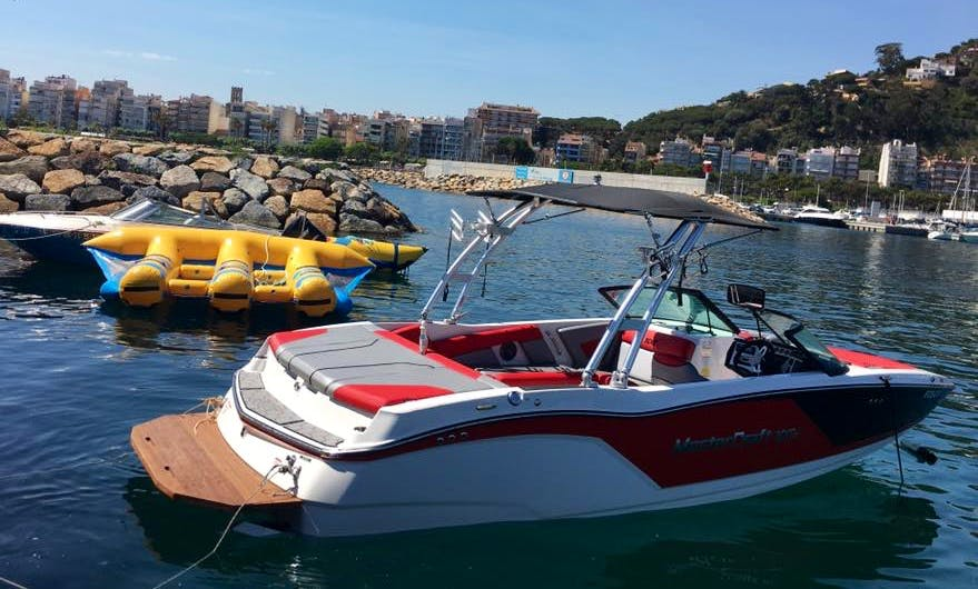 Charter a Bowrider in Blanes, Spain