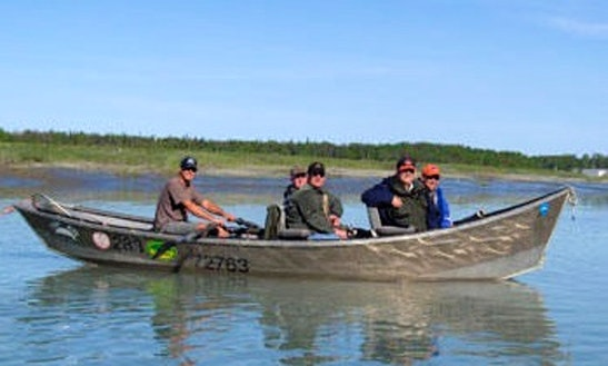 20' Bass Boat Charter In Sterling, Alaska