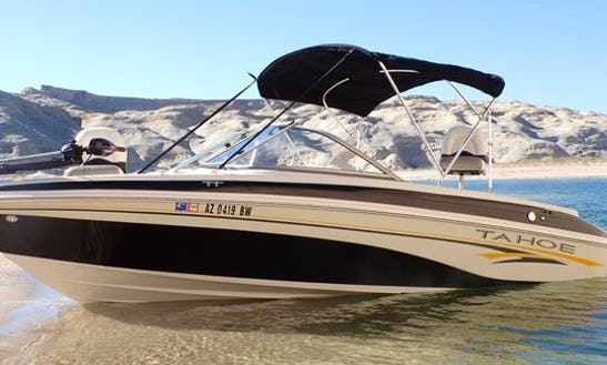 Enjoy Lake Powell In This 21' Tahoe Q6 Ski And Fish