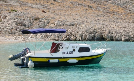 Charter 19' Arba 500 Cuddy Cabin In Senj, Croatia