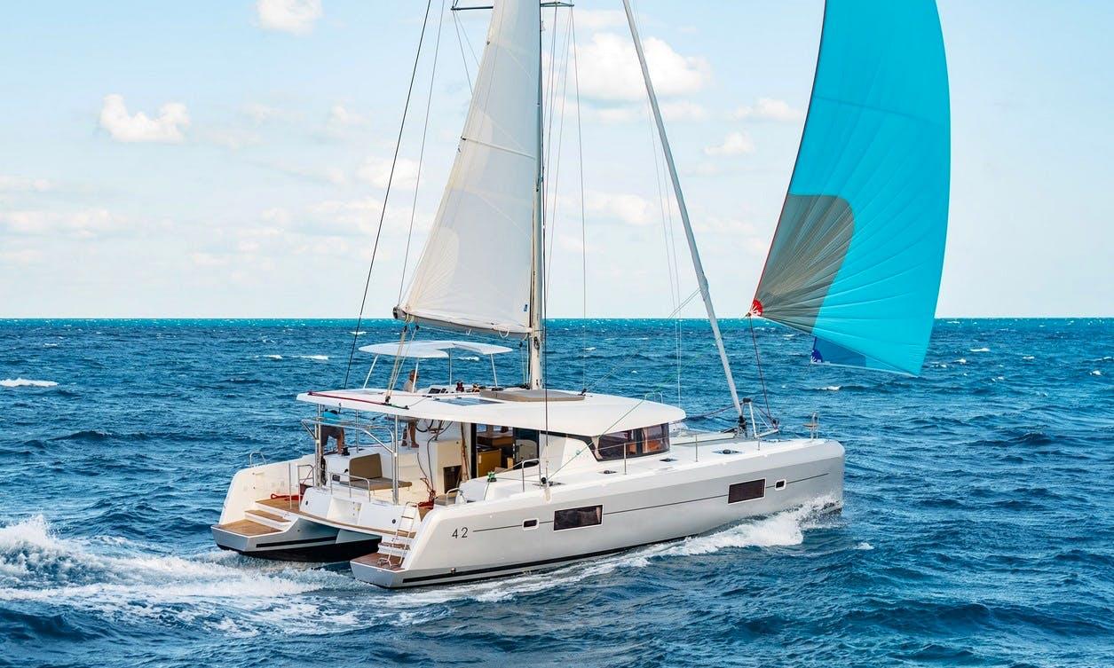 Charter 42' Lagoon - Maxim Cruising Catamaran in Ouddorp, Netherlands