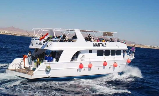 Charter Manta 2 Motor Yacht In Red Sea Governorate, Egypt